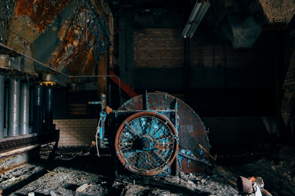 Abandoned Factory. Chicago, IL 2012